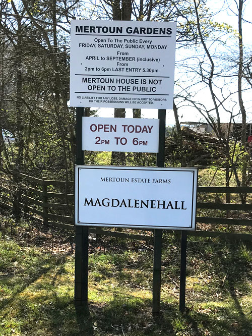 Magdalenehall Entrace